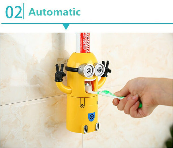 Minions AUTOMATIC TOOTHPASTE DISPENSER (Free Shipping) - the Weird Store - 6