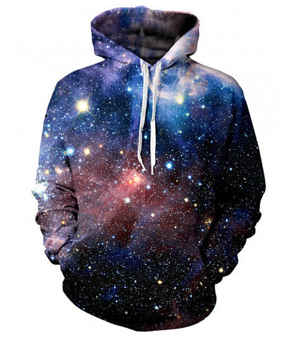 Galaxy Stars Trippy Hoodie (Free Shipping) - the Weird Store