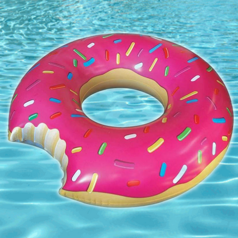 Donut Pool Raft - the Weird Store - 1