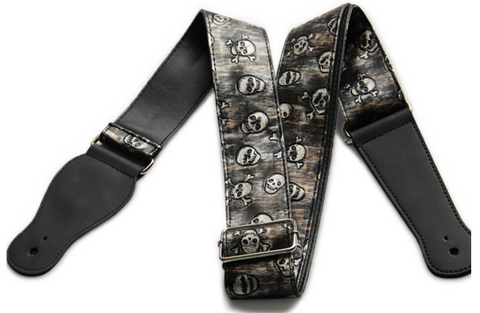 Skull Devil Guitar Strap - the Weird Store - 1