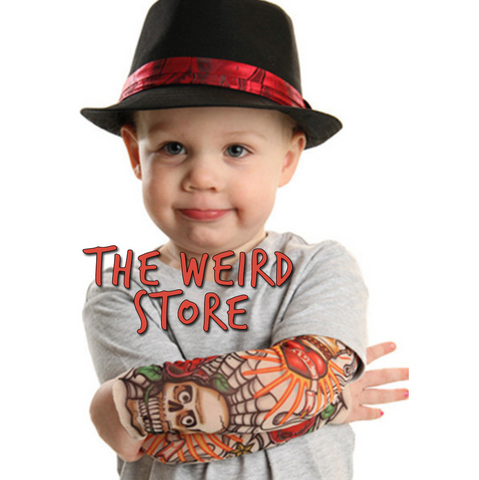 Kids Fake Tattoo Sleve (1 sleeve per order) - the Weird Store - 1