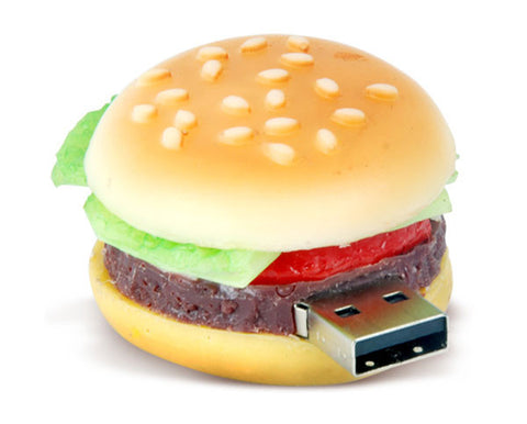 CheeseBurger USB Drive (4gb, 8gb, 16,gb, 32gb) - the Weird Store