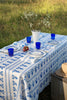 Cobalt Delft Vase linen napkins (set of 4)