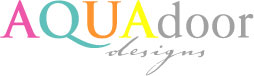 Aqua door Designs logo