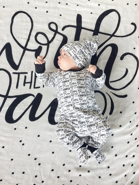 Muslin cotton swaddle - Worth the wait
