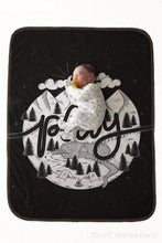 Load image into Gallery viewer, Fleece Blanket - Play Monochrome - howjoyfulshop