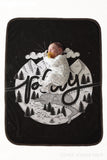 Fleece Blanket - Play Monochrome - howjoyfulshop