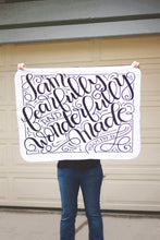 Load image into Gallery viewer, Swaddle - I am fearfully and wonderfully made - PSALM 139:14 - howjoyfulshop