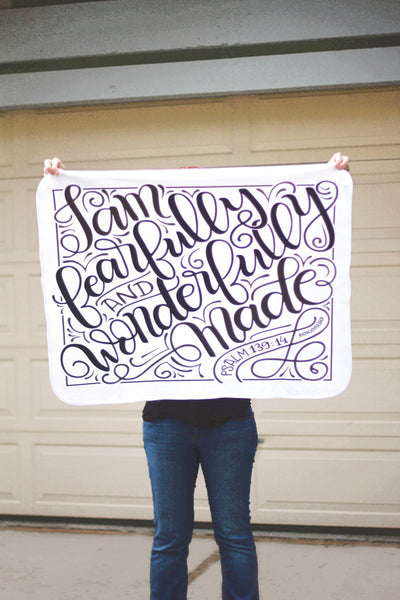 Swaddle - I am fearfully and wonderfully made - PSALM 139:14