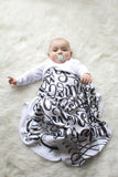 Swaddle - I knew you before I formed you in your mother's womb - Jeremiah 1:5 - LAP SIZE - SALE - howjoyfulshop