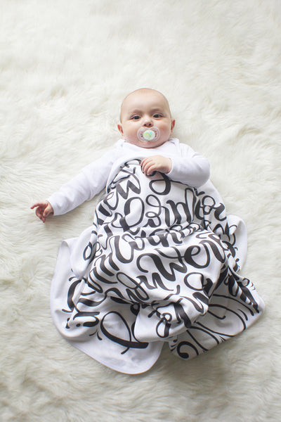 Swaddle - I knew you before I formed you in your mother's womb - Jeremiah 1:5