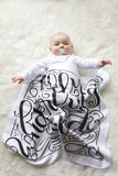 Swaddle - I am fearfully and wonderfully made - PSALM 139:14 - howjoyfulshop