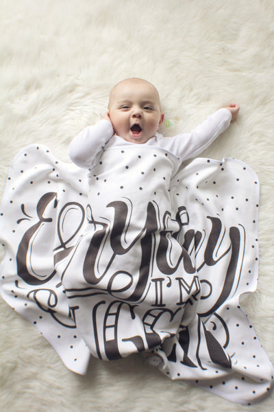 Swaddle - Everyday I'm snugglin' - howjoyfulshop