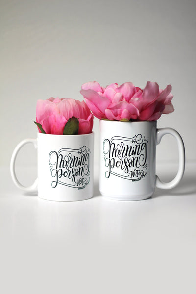 Mug - Hustle is my middle name - howjoyfulshop