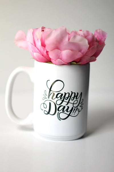 Mug - Happy day!! - howjoyfulshop