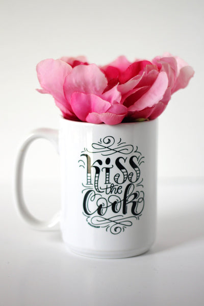 Mug - Kiss the cook - howjoyfulshop