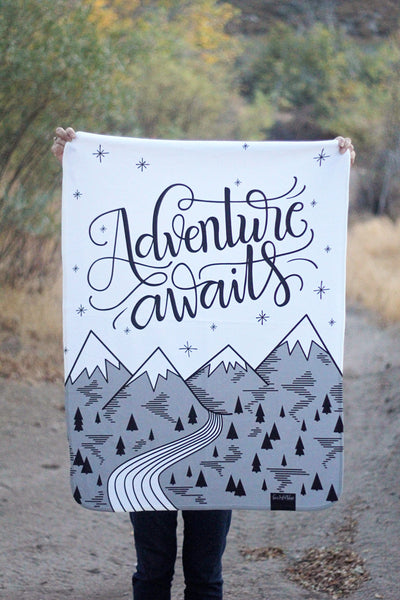 Swaddle - Adventure awaits - howjoyfulshop