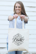 Load image into Gallery viewer, Small Tote bag - Bride - howjoyfulshop
