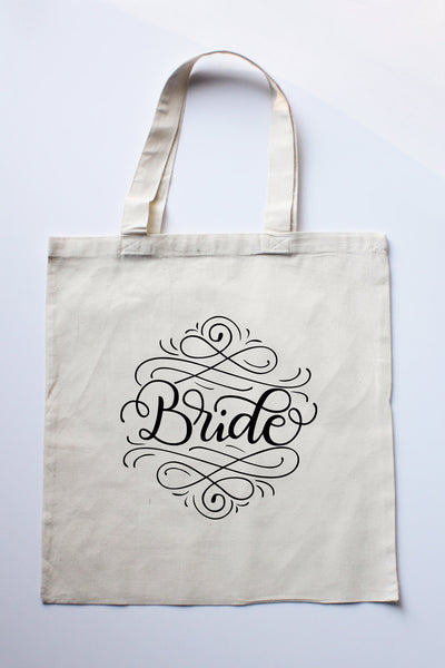 PREORDER - Small Tote bag - Bride - howjoyfulshop