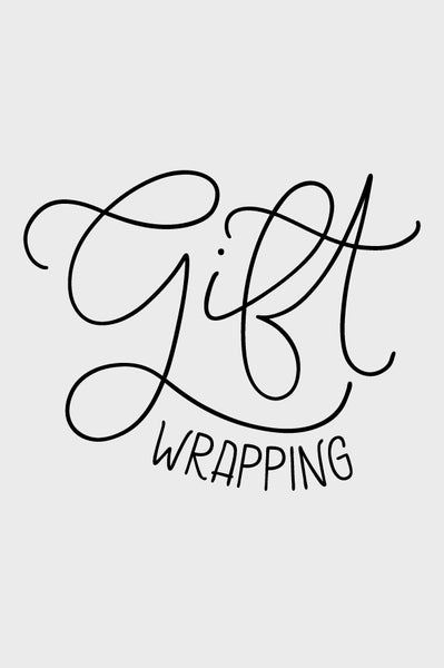 Extra - Gift wrapping