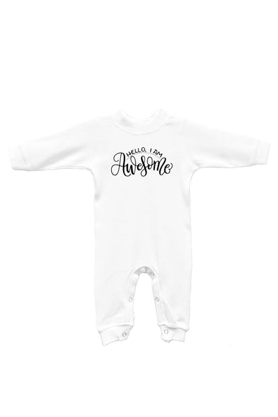 Sleep & play - Hello I am awesome - SALE - howjoyfulshop