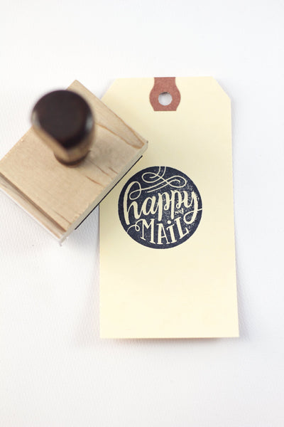 Stamp - Happy Mail - howjoyfulshop