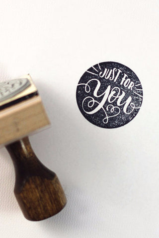 Stamp - Just for you - howjoyfulshop