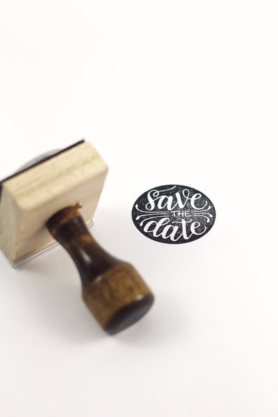 Stamp - Save the Date - howjoyfulshop