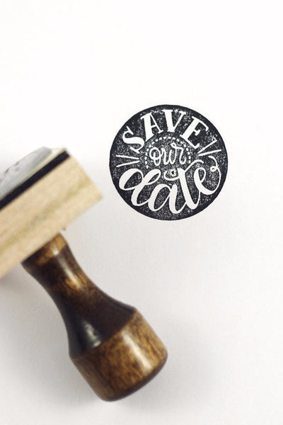 Stamp - Save our Date - howjoyfulshop