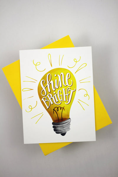 Card - Shine bright - howjoyfulshop