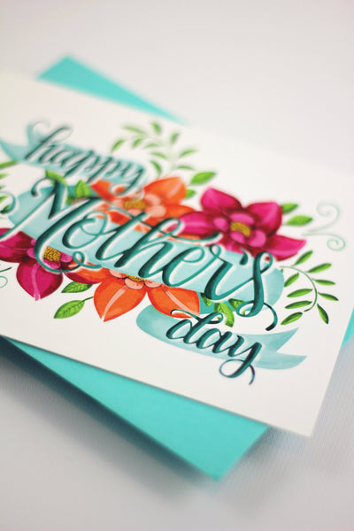 Card - Happy Mother's day card - howjoyfulshop