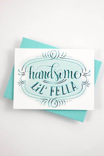 Card - Handsome little fella - howjoyfulshop