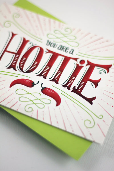 Card - You are a Hottie - howjoyfulshop