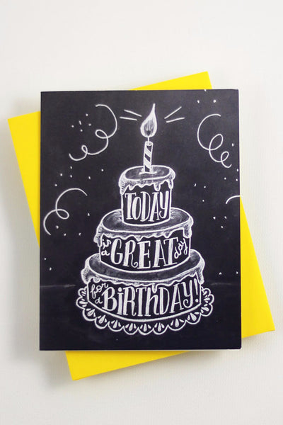 Card - Today is a great day for a Birthday - howjoyfulshop