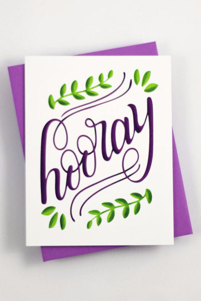 Card - Hooray - howjoyfulshop