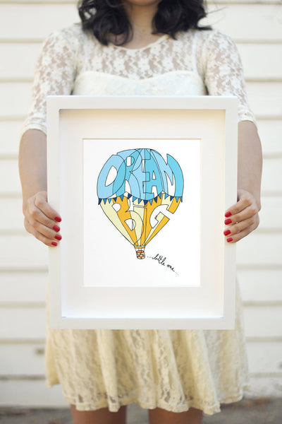 Art print - Dream big... little one - howjoyfulshop