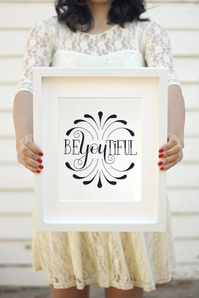 Art print - BEyouTIFUL - howjoyfulshop