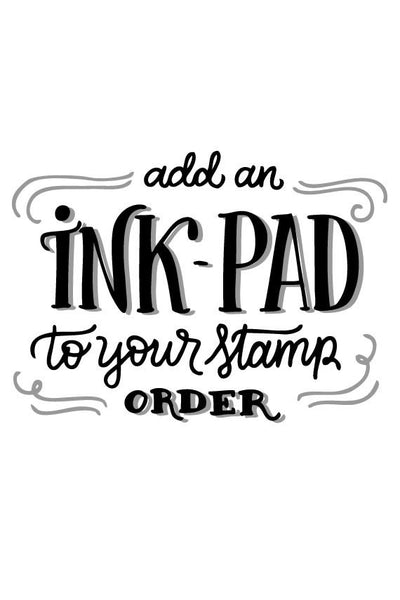 Extra - Add an Ink pad to your stamp order - howjoyfulshop