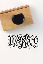 Load image into Gallery viewer, Stamp - Made with love - SALE - howjoyfulshop