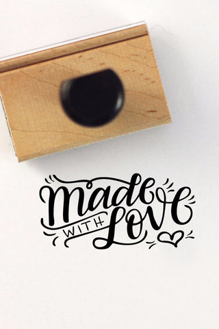 Stamp - Made with love - howjoyfulshop