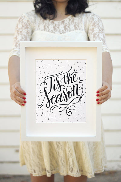 Art print - Tis the season - howjoyfulshop