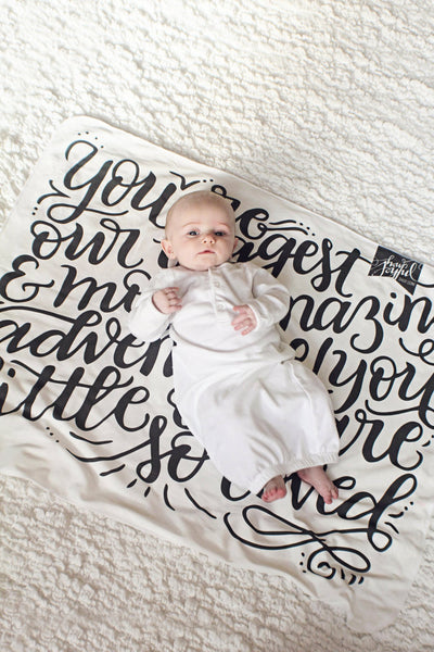 Swaddle - You are our biggest and most amazing adventure