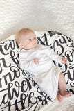 Swaddle - You are our biggest and most amazing adventure - howjoyfulshop