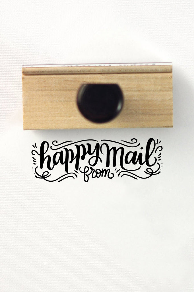 Stamp - Happy mail from - howjoyfulshop