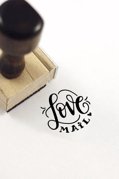 Stamp - Love Mail - SALE - howjoyfulshop
