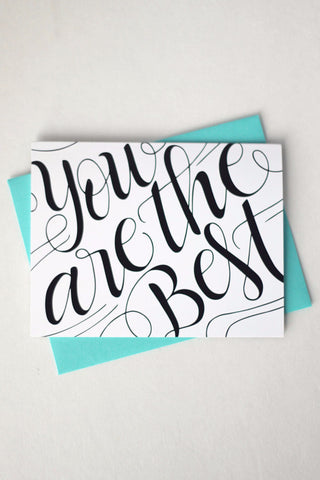 Card - You are the best - howjoyfulshop