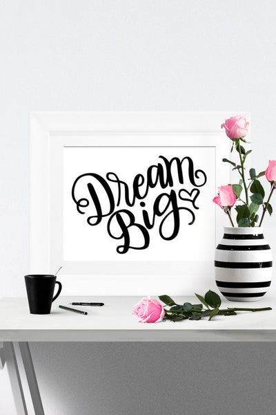Art print - Dream Big - howjoyfulshop