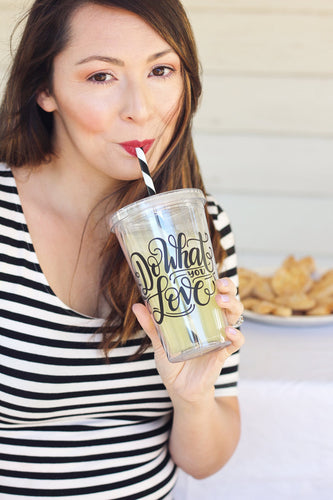 Tumbler - Do what you love - howjoyfulshop