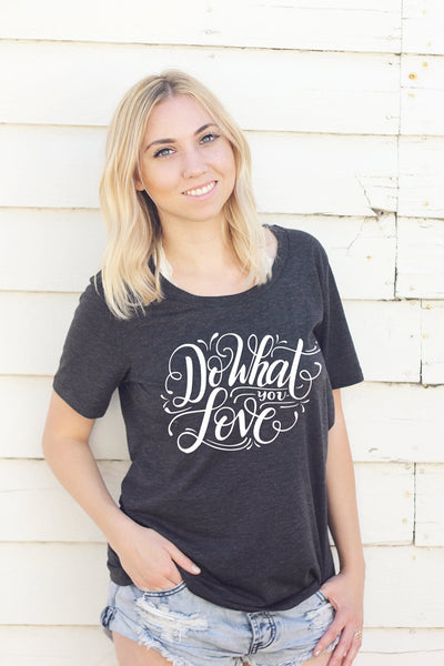 Tee - Do what you love - SALE - howjoyfulshop