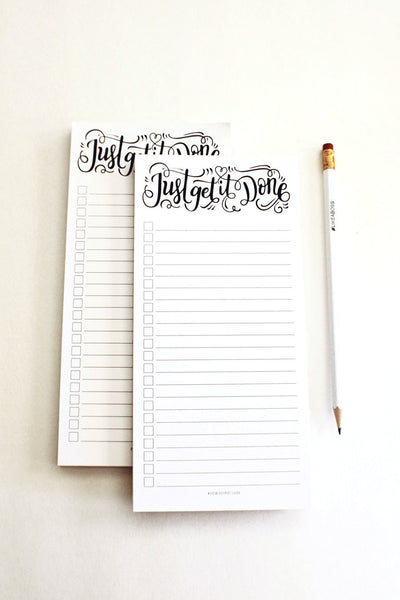 notepad - Just get it done - howjoyfulshop